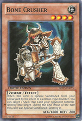 Bone Crusher - GLD5-EN025 - Common - Limited Edition on Channel Fireball