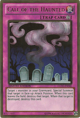 Call of the Haunted - GLD5-EN046 - Gold Rare - Limited Edition on Channel Fireball