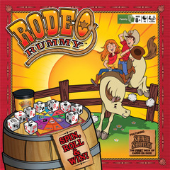 Rodeo Rummy w/ Square Shooters