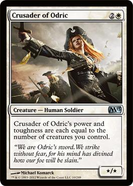 Crusader of Odric - Foil