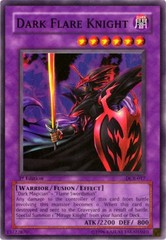 Dark Flare Knight - DCR-017 - Super Rare - 1st Edition