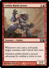 Goblin Battle Jester - Foil