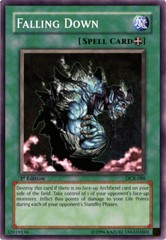 Falling Down - DCR-088 - Common - 1st Edition on Channel Fireball