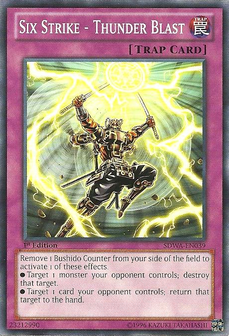 Six Strike - Thunder Blast - SDWA-EN039 - Common - 1st Edition