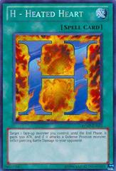 H - Heated Heart - RYMP-EN023 - Secret Rare - Unlimited Edition