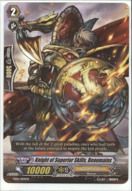 Knight of Superior Skills, Beaumains - TD05/004EN