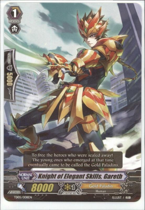 Knight of Elegant Skills, Gareth - TD05/008EN