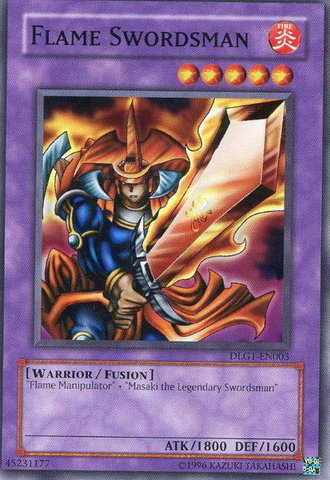 Flame Swordsman - DLG1-EN003 - Common - Unlimited Edition