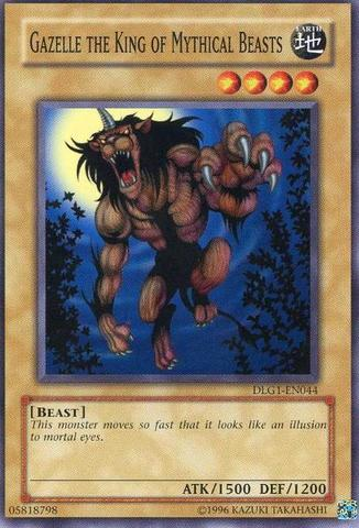 Gazelle the King of Mythical Beasts - DLG1-EN044 - Common - Unlimited Edition