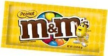 M&M Peanut Countgood 1.74oz 48ct
