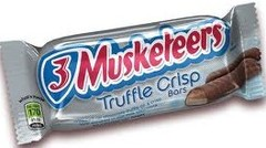 3 Musketeers Truffle Crisp Candy Bar Countgood 1.1oz 24ct