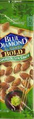 Blue Diamond Almonds Wasabi & Soy 1.5oz 12ct