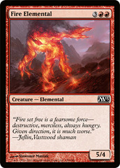 Fire Elemental on Channel Fireball