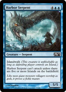 Harbor Serpent - Foil