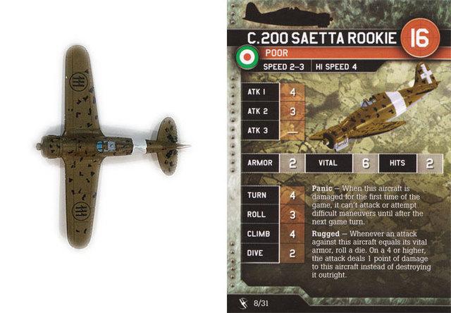 C.200 Saetta Rookie