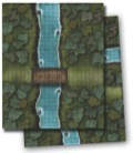 Pathfinder GameMastery Flip-Mat: River Crossing