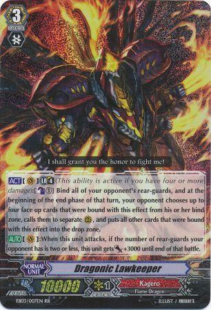 Dragonic Lawkeeper - EB03/007EN - RR