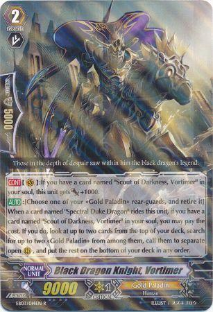 Black Dragon Knight, Vortimer - EB03/014EN - R