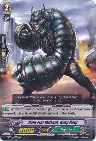 Iron Fist Mutant, Roly Poly - EB03/026EN - C