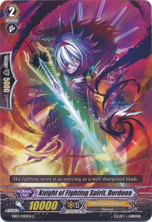 Knight of Fighting Spirit, Dordona - EB03/040EN - C