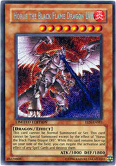 Horus The Black Flame Dragon LV8 - EEN-ENSE1 - Secret Rare - Limited Edition