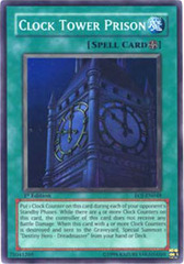 Clock Tower Prison - EOJ-EN048 - Super Rare - 1st Edition on Channel Fireball