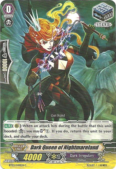 Dark Queen of Nightmareland - BT03/049EN - C