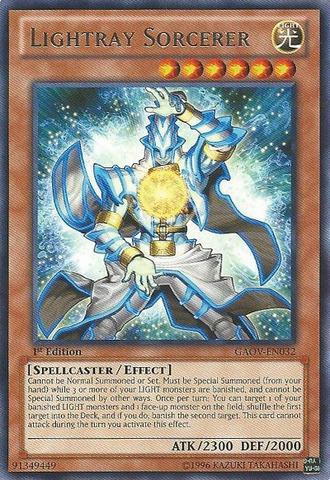 Lightray Sorcerer - GAOV-EN032 - Rare - Unlimited Edition