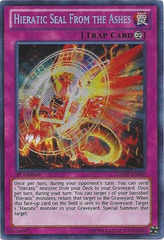 Hieratic Seal From the Ashes - GAOV-EN088 - Secret Rare - Unlimited Edition