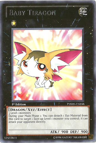 Baby Tiragon - PHSW-EN038 - Rare - Unlimited Edition