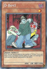 D-Boyz - PHSW-EN084 - Secret Rare - Unlimited Edition