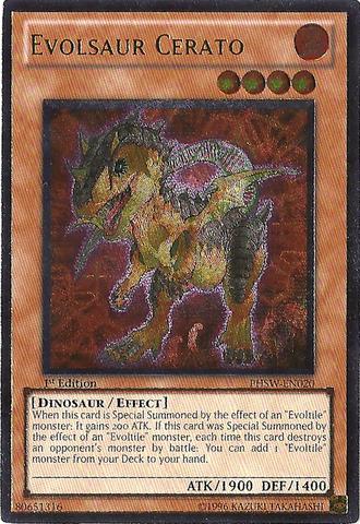 Evolsaur Cerato - PHSW-EN020 - Ultimate Rare - Unlimited Edition