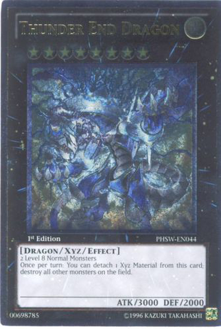Thunder End Dragon - PHSW-EN044 - Ultimate Rare - Unlimited Edition