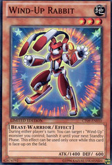 Wind-Up Rabbit - CT09-EN010 - Super Rare - Limited Edition on Channel Fireball