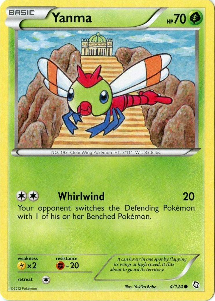 CCG 388 Pokemon Skyridge Reverse Holo Yanma 116//144
