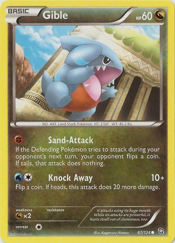 Gible - 87/124 - Common