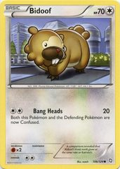 Bidoof - 106/124 - Common on Channel Fireball