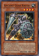 Ancient Gear Knight - GLAS-EN029 - Common - 1st Edition on Channel Fireball