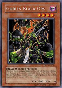 Goblin Black Ops - GLAS-EN030 - Rare - 1st Edition