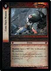 Curse From Mordor - Foil