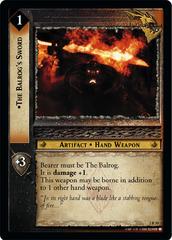 The Balrog's Sword - Foil