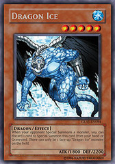 Dragon Ice - GLAS-EN084 - Secret Rare - 1st Edition