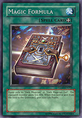 Magic Formula - GLAS-EN093 - Secret Rare - 1st Edition