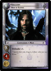 Aragorn, Heir of Elendil - 4C109 - Foil