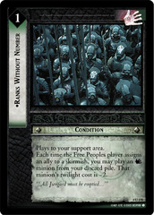 Ranks Without Number - Foil