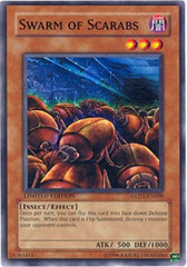 Swarm of Scarabs - GLD1-EN008 - Common - Limited Edition on Channel Fireball