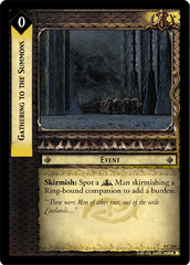 Gathering to the Summons - Foil