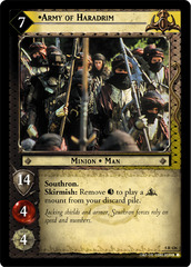 Army of Haradrim - Alternate Image - Foil