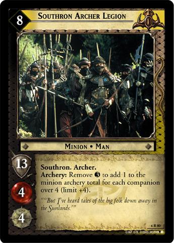 Southron Archer Legion - Foil