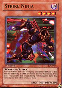 Strike Ninja - IOC-007 - Ultra Rare - 1st Edition